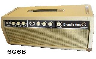 The 6G6B 50 Watt Blondie Head Amp